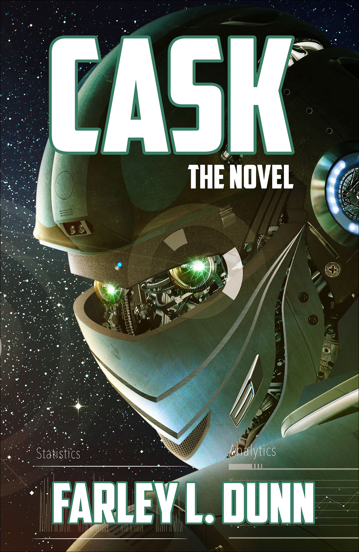 Cask The Novel Front for web insertion